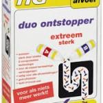 HG duo ontstopper gebruiken bij verstoppingen